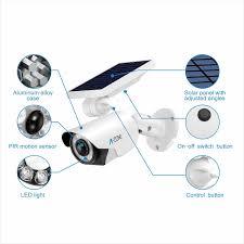 <b>Solar</b> Motion Sensor Light <b>Outdoor</b> - 800Lumens 8 LED Spotlight 5 ...