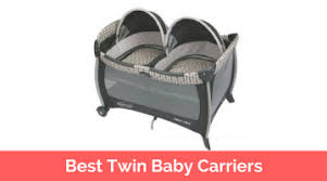 Top 10 Best Twin Baby Carriers in 2017 Reviews