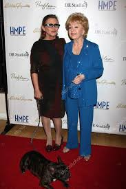 carrie fisher 2014. Modren Carrie Carrie Fisher Debbie Reynolds U2014 Stock Photo On Fisher 2014 Y