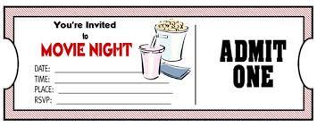 Play Ticket Template Printable Raffle Ticket Templates Movie Template Microsoft Word