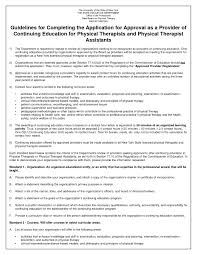 Resume Physical Therapist Resume