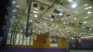 gym light fixtures guiler workout shown above the b 3 level gymnasium s metal halide lighting