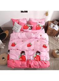 Designer Bed Sheet Set Shop Deals For Less 6 Piece Designer Bedding Set Cotton Pink 200x230 Centimeter Online In Dubai Abu Dhabi And All Uae