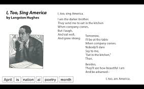 i too sing america by langston hughes strength for life essay the poems i too sing america by langston hughes and description from i searched for this on