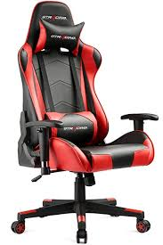 ergonomic computer chair amazon. Perfect Amazon GTRACING Gaming Office Chair Game Racing Ergonomic Backrest And Seat Height  Adjustment Computer With Pillows And Amazon E