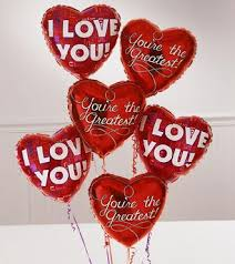 valentines day balloon bouquet sf 09214