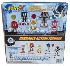 Sonic x bendable toys