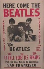 Image result for beatles candlestick park 1966