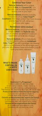 Clairol Natural Instincts Hair Color Walmart Com