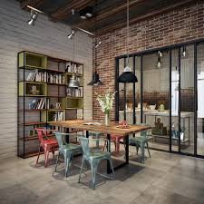 Industrial Style Dining Table And Chairs