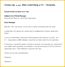 Resume Follow Up Email Sample What Say On A In Maker Powerful But