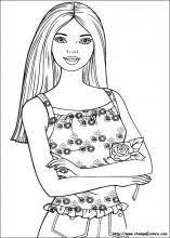 Disegni Di Barbie Da Colorare Laboratori Disegni Da Colorare