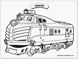 Small Picture coloring pictures on chuggington Free Printables
