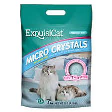 image cat litter.  Image ExquisiCat Micro Crystals Cat Litter On Image M