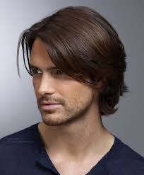 Long Hair Style Men Mens Hairstyle With Ear Long Top Hair And Curls That Curl Up In 1399 by wearticles.com