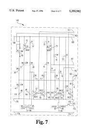 patent us5350982 motorized golf bag cart circuit and apparatus patent drawing