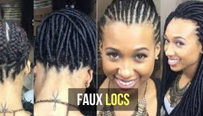 Loc Hairstyles 25 Wonderful All You Need To Know About Installing Faux Locs On Your Natural Hair