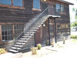 Small Picture Outdoor Stair Railing With Simple Prefab Exterior Stair Railing