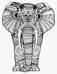 Elephant Coloring Book For Adults Awesome Photos Zentangle Animals
