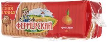 Фермерский Крекер с Луком, 200 Г, Продукты, Напитки, Табак ...