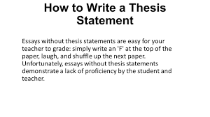 what is a thesis statement ppt video online how to write a thesis statement