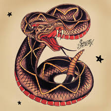 rattlesnake head tattoo. Beautiful Tattoo Cool Traditional Snake Tattoo Design Inside Rattlesnake Head N