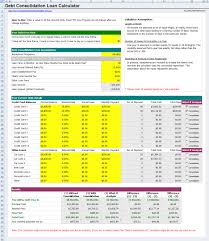 credit card payoff calculator excel free credit card debt consolidation loan calculator