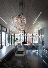 glass bubble chandelier diy custom pendants and blown pendant lighting ideas for a modern sleek glow