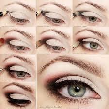 the magic triangle makeup tutorial eye shadow smokey pretty cute desi