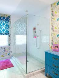 Creatively Colorful Shower Curtains  HGTVColorful Bathroom