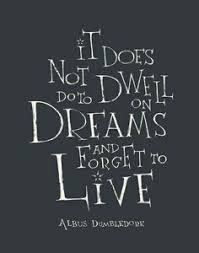 Dumbledore Dreams Quote Best Of Albus Dumbledore Quote For In Dreams We Enter A World That Is