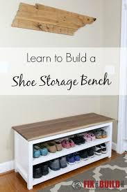Entry benches shoe storage Ana White Diy Entryway Bench With Shoe Storage Pinterest Diy Entryway Shoe Storage Bench Diy Furniture And Wood Projects