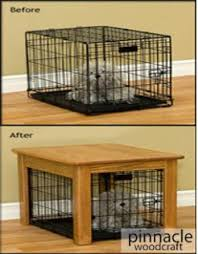 Amish Wood Dog Crate Cover With Lift Up Top