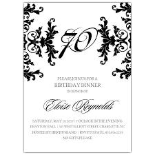 Wording For 70th Birthday Invitation 90th Birthday Invitation Cards