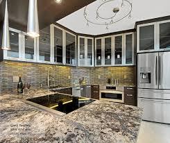 tarin contemporary kitchen cabinets in walnut kodiak