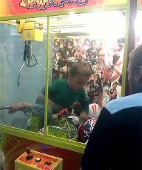Stuck Vending Machine Fascinating Young Rugby Fan Gets Stuck In Vending Machine Stuffconz
