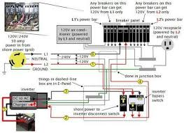 17 best ideas about recreational vehicles luxury rv rv dc volt circuit breaker wiring diagram power system on an rv
