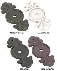 Emtek Bronze Cabinet Knob Backplate Shop Cabinet Hardware at