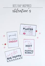 Day Cards To Print 90 S Rap Inspired S Day Cards Thoughtfully Simple