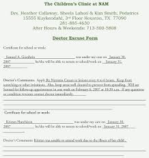 Doctors Note For School Doctors Note For School Nefrocaribe Co
