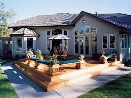Creating a Backyard Paradise   House Plans and MoreHouse Plan   Backyard Deck