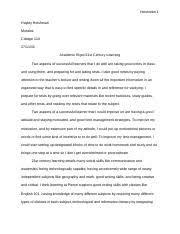 edt college success pierce college page course hero 2 pages c110 academic essay c110 academic essay pierce college college success