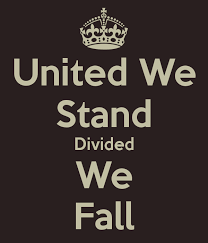 tips for crafting your best united we stand divided we fall essay because we wore not united but when the bundle was untied and the separated sticks were given to his sons they could break them very easily