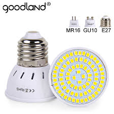 Goodland E27 <b>LED Bulb 220V</b> 240V MR16 <b>GU10 LED Lamp LED</b> ...
