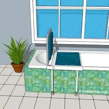 jacuzzi tub bath bench homeability
