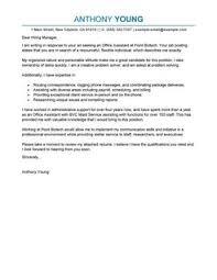 Free Professional Letter Samples | LiveCareer