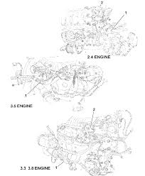 2001 chrysler town country wiring engine related parts diagram 00i48071