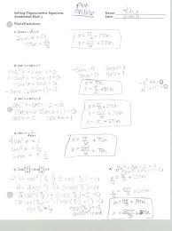 trig equations worksheet 5 1 name solve for 0 x