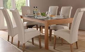 Latest Glass Top Dining Tables And Chairs Dining Table Glass And Wood  Dining Table Interior Home Design