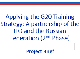 Training Strategy Applying The G20 Training Strategy A Partnership Of The Ilo And The